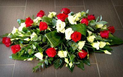 Smuteční kytice č. 15