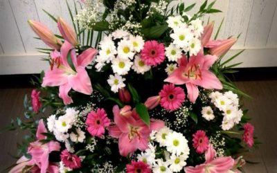 Smuteční kytice č.9