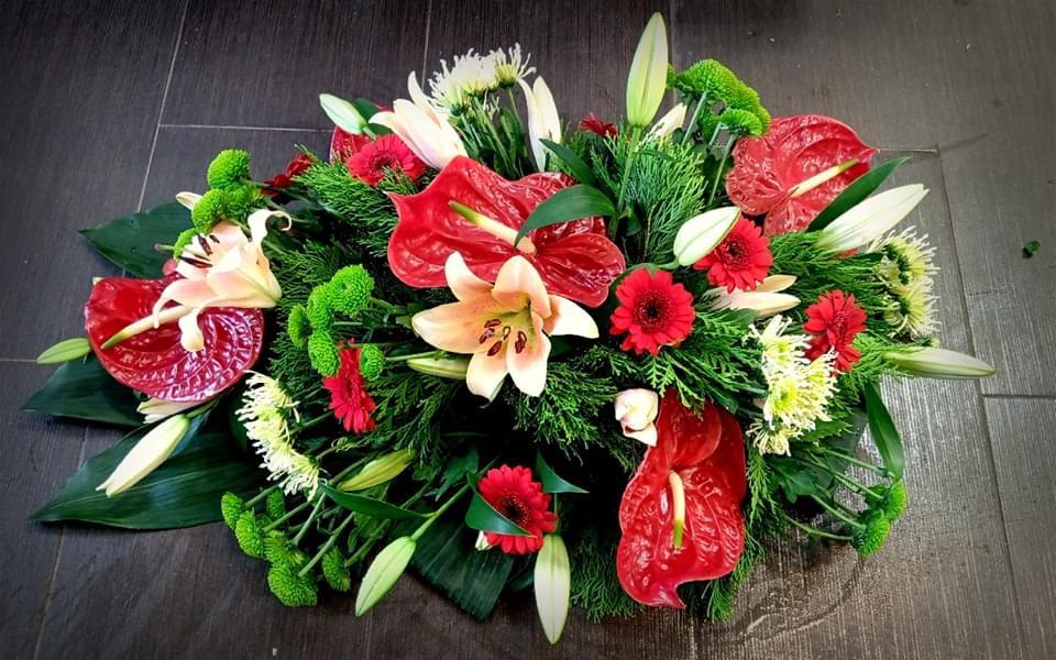 Smuteční kytice č. 25