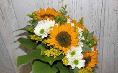 Svatební kytice 4