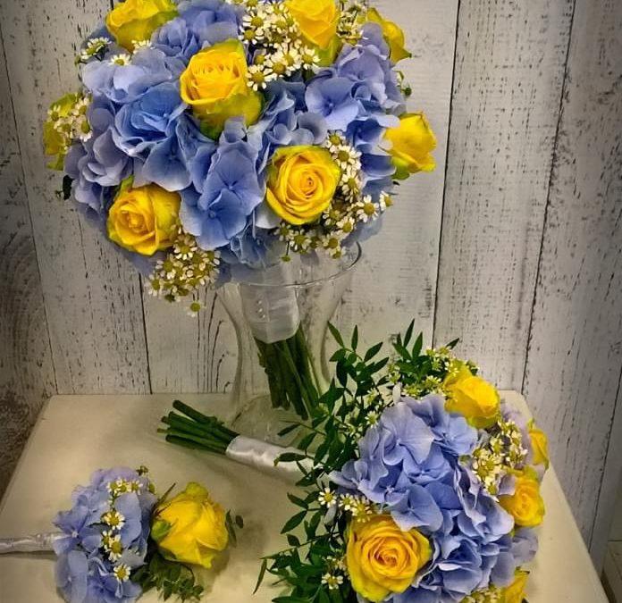 Svatební  kytice č. 24
