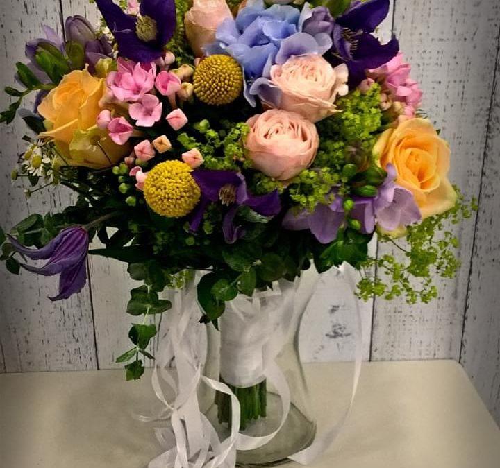 Svatební kytice č. 21