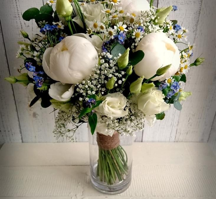 Svatební kytice č. 1