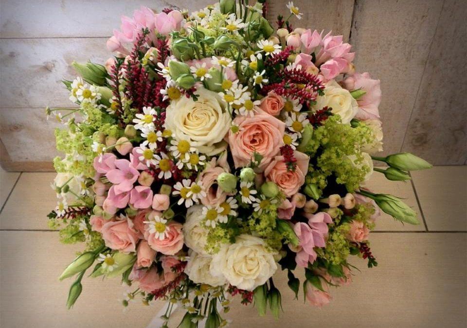 Svatební kytice č.35