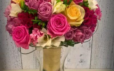 Svatební kytice č.19
